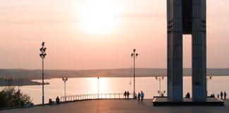 Izhevsk, Ρωσία, αποβάθρα Στοκ Εικόνα