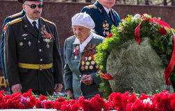 Izhevsk, Russia - May 9, 2014. Victory Day. Stock Photos