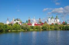 Izmailovo Κρεμλίνο και λίμνη, Μόσχα, Ρωσία Στοκ φωτογραφία με δικαίωμα ελεύθερης χρήσης