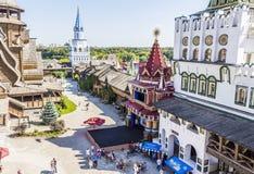 Izmailovo Κρεμλίνο στην πόλη Μόσχα Στοκ φωτογραφία με δικαίωμα ελεύθερης χρήσης