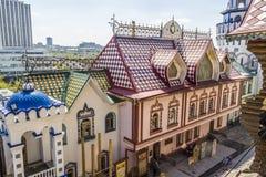 Izmailovo Κρεμλίνο στην πόλη Μόσχα Στοκ εικόνες με δικαίωμα ελεύθερης χρήσης