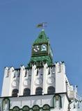 Izmailovo. De toren van het Kremlin Stock Foto's