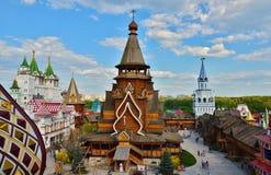 Izmailovo het Kremlin Royalty-vrije Stock Afbeeldingen