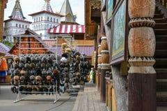 Izmailovo het Kremlin stock foto's