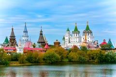 Izmailovo het Kremlin stock afbeeldingen