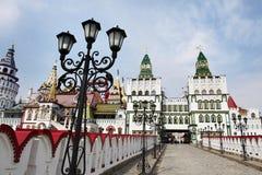 Izmailovo het Kremlin in Moskou stock afbeeldingen