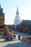 Izmailovo het Kremlin Moskou Royalty-vrije Stock Afbeeldingen