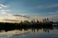 Izmailovo Kreml i Moskva, Ryssland Royaltyfria Bilder