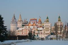 Izmailovo kremlin Immagini Stock Libere da Diritti