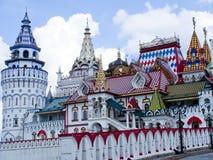Izmailovo Kremlin royaltyfri fotografi