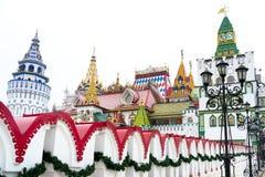 izmailovo kremlin royaltyfria foton