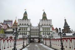 Izmailovo Kremlin Imagen de archivo libre de regalías