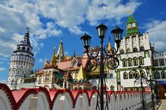 Izmailovo Kremlin Fotografía de archivo libre de regalías