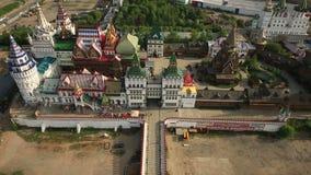 Izmailovo Kremlin stock video footage
