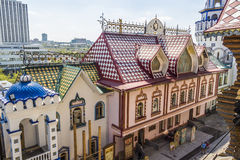 Izmailovo Kremlin in city Moscow. Royalty Free Stock Images