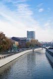 izmailovo Kremlin jeziora krajobraz Moscow odbijający obrazy royalty free