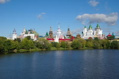 Izmailovo Kremlin and lake in Moscow, Russia Stock Photos