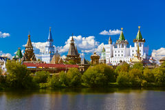 Izmailovo Kremlin and lake - Moscow Russian Royalty Free Stock Image