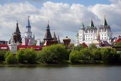 Izmailovo Kremlin, Moscou, Russie image libre de droits