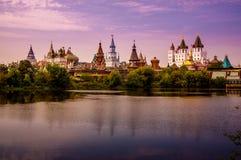 izmailovo kremlin moscow Россия Стоковое Изображение RF