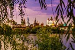 izmailovo kremlin moscow Россия Стоковая Фотография