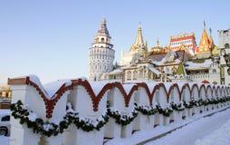 izmailovo kremlin moscow Fotografering för Bildbyråer
