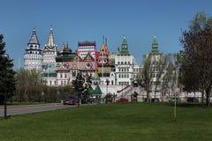 Izmailovo Kremlin. Moscow Stock Photo