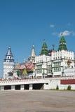 izmailovo kremlin moscow Arkivfoton