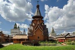 izmailovo Kremlin Moscow obraz royalty free