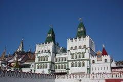 izmailovo kremlin moscow russia Fotografering för Bildbyråer
