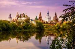 izmailovo kremlin moscow russia Arkivbild