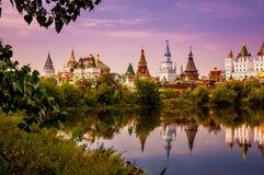 izmailovo kremlin moscow russia Arkivbilder
