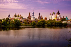 izmailovo kremlin moscow russia Royaltyfri Bild