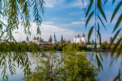 izmailovo kremlin moscow russia Royaltyfria Bilder