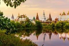 izmailovo kremlin moscow russia Royaltyfri Foto