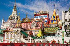 izmailovo kremlin moscow russia Arkivfoto