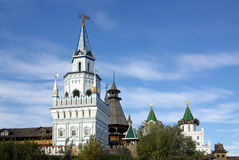 Izmailovo Kremlin in Moscow, Russia Royalty Free Stock Photo