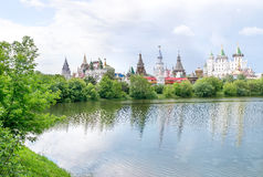 Izmailovo Kremlin, Moscow, Russia. royalty free stock photo