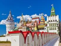 Izmailovo Kremlin - Moscow Russian Royalty Free Stock Photo