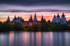 Izmailovo Kremlin Stock Photo