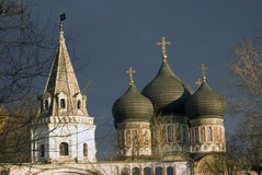 Izmailovo manor in Moscow. Intercession cathedral Royalty Free Stock Photo