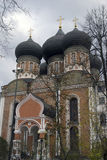 Izmailovo manor in Moscow. Interseccion cathedral Royalty Free Stock Photography