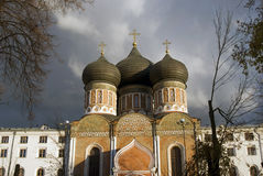 Izmailovo manor in Moscow. Interseccion cathedral Stock Photography