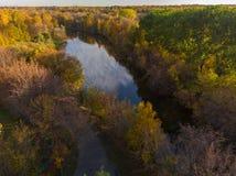 Izmailovo-Park im Herbst in Moskau, Russland lizenzfreie stockfotografie