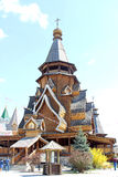 Izmailovskiy het Kremlin in Moskou op een zonnige dag Stock Afbeeldingen