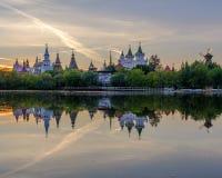 Izmailovsky het Kremlin stock foto's