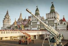 Izmailovsky Kremlin à Moscou photos libres de droits