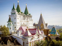 Izmailovsky Kremlin à Moscou photo stock