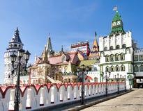 Izmailovsky Kremlin stockfoto