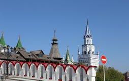 Izmailovsky Kremlin Kremlin in Izmailovo, Moscow, Russia Stock Image
